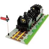 Kawada Nanoblock Steam Locomotive Building Kit