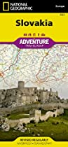 Slovakia: National Geographic: Adventure Map (National Geographic: Adventure Map (3323))