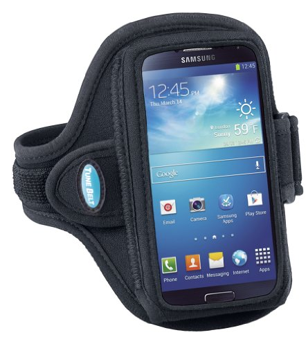 "Sport Armband For Samsung Galaxy S4 / S3 (Fits Devices/Cases 5""-5.4"" In Length Including Medium Size Iphone 5/5S/5C Cases)"