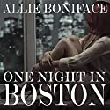 One Night in Boston Audiobook by Allie Boniface Narrated by Rebecca Van Volkinburg