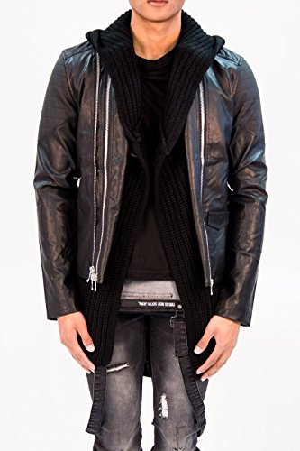 Sixth June Uomo Giacca in pelle Leather