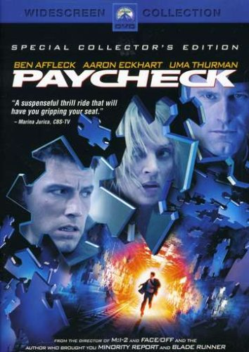 Cover art for  Paycheck (Special Collector's Edition)