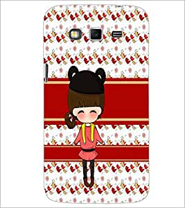 PrintDhaba Cute Doll D-5857 Back Case Cover for SAMSUNG GALAXY GRAND 2 (Multi-Coloured)