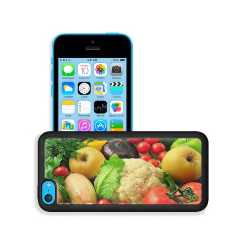 Vegetables Fruits Mixture Healthy Food Apple Iphone 5C Snap Cover Premium Leather Design Back Plate Case Customized Made To Order Support Ready 5 Inch (126Mm) X 2 3/8 Inch (61Mm) X 3/8 Inch (10Mm) Msd Iphone_5C Professional Case Touch Accessories Graphic front-995477