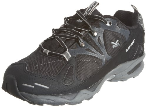 Hi-Tec Men's V-Lite Blackhawk WP Black/Dark Grey/Silver Trainer O001117/021/01 10.5 UK