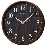SEIKO CLOCK (セイコークロック) 掛け時計 スタンダード ナチュラルスタイル(濃茶塗装) KX399B KX399B