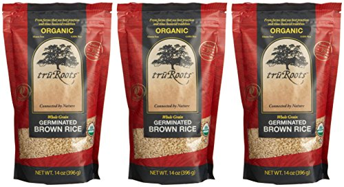 truRoots Organic Germinated Brown Rice (3x14 oz.) (Tru Roots Brown Rice compare prices)