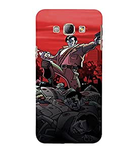 Ebby Premium Printed Back Case Cover With Full protection For Samsung Galaxy A7 (2015 Old Version) / Samsung Galaxy A7 A700F (2015) (Designer Case)