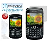 ITALKonline Screen LCD Scratch Protector (10 Pack) & MicroFibre Cloth For BlackBerry 8520 Curve, 9300 3G