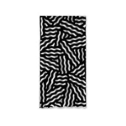50x96 Home Fashion Window Panel (One Piece) with Wave Stripes Pattern