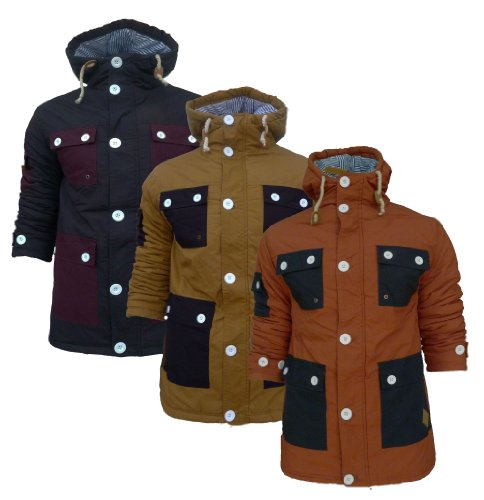 Mens Soul Star MJ-Dougie Padded Jacket (Large - 40