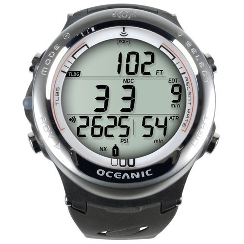 New Oceanic Atom 3.1 Dive Computer With Free Online Training (White-W/O Transmitter)
