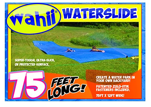 Wahii WaterSlide 75 - World's Biggest Backyard Lawn Water Slide! (Best Slip N Slide compare prices)