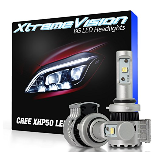 XtremeVision® 8G 72W 12,000LM - 9006 LED Headlight Conversion Kit - 6500K XHP50 CREE LED - 2016 Model (1994 Honda Prelude Body Kit compare prices)