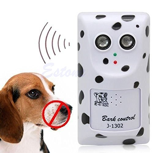 Humanely Ultrasonic Anti No Bark Control Device Stop Dog Bar