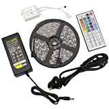 Yiizy-5M-164Ft-LED-Strip-Set-RGB-5050SMD-300LED-Waterproof-Flexible-LED-Light-Strip-Lamp-44Key-IR-Remote-ACDC-12V-5A-Power-Set