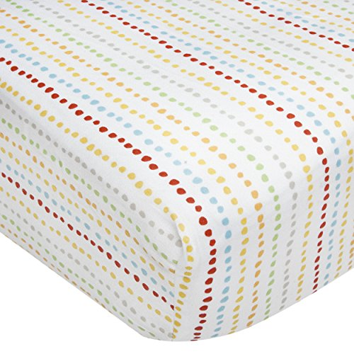 Kidsline Who's At The Zoo Fitted Sheet, Beaded - 1