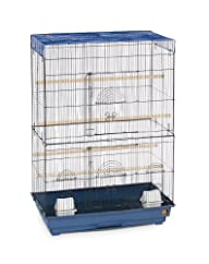Prevue Hendryx Flight Cage, Blue and Black