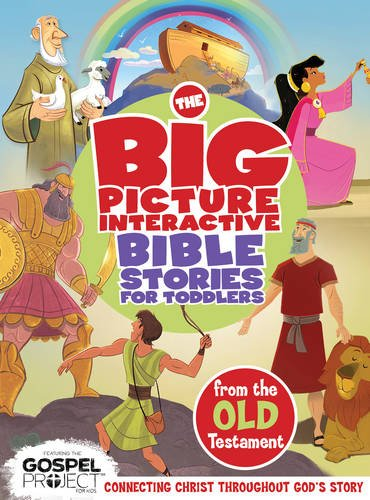 The Big Picture Interactive Bible Stories for Toddlers Old Testament: Connecting Christ Throughout God's Story (The Gospel Project) (Old Testament For Kids compare prices)