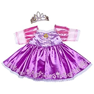 : Build a Bear Workshop, Rapunzel Costume 2 pc. Disney Princess Teddy ...
