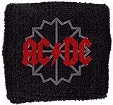 AC/DC Wristband - Black Ice Logo