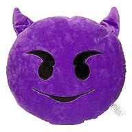 32cm Emoji Smiley Emoticon Purple Rou…