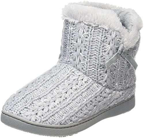 isotoner-women-sparkle-knit-pillowstep-bootie-low-top-slippers-grey-grey-6-uk-39-eu