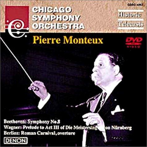 シカゴ交響楽団と歴史的巨匠たち-4 モントゥー [DVD]