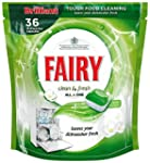 Fairy Auto Dishwash Tablets Clean & F...