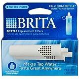 Brita Bottle Replacement Filters 2Pk 35561