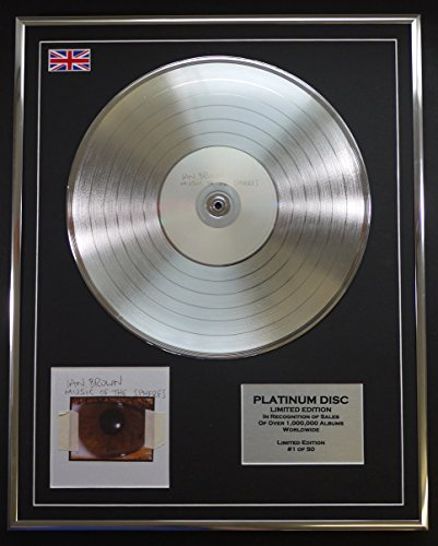 IAN BROWN/LTD Edizione CD platinum disc/MUSIC OF THE SPHERES