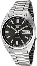 Comprar Seiko SNXS79K - Reloj analógico automático unisex con correa de acero inoxidable, color gris