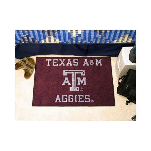 """Fanmats Sports Team Logo Design Texas A&M Starter Rug 20""""X30"""" front-356050"""