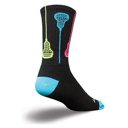 SockGuy Crew 6in Glow Sticks Lacrosse Socks