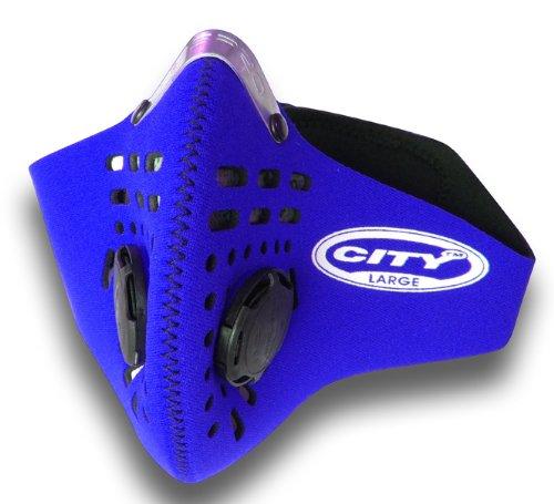 Respro City - Maschera antismog, Blu (blu), L