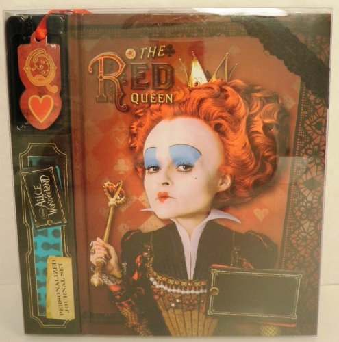 Disney Red Queen Journal with Bookmark- Red Queen and Card Symbol Watermarks - 1
