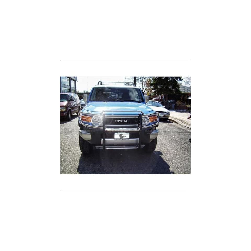 Black Horse Stainless Steel Grill Guard 07 11 Toyota FJ Cruiser