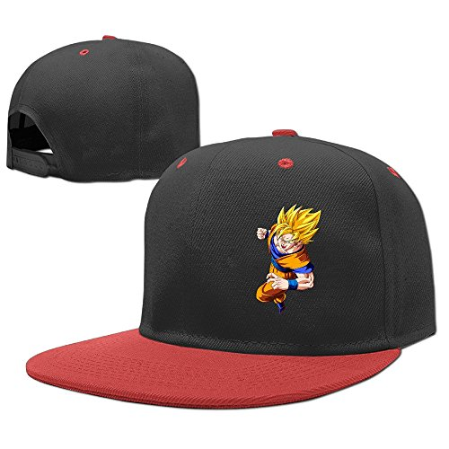 hittings-cool-goku-dragonball-z-child-hiphop-baseball-cap-boys-girls-hat-snapback-one-size-red