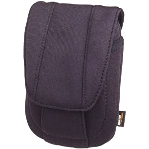 AmazonBasics Camera Case for Digital Cameras / Point & Shoot - Black Neoprene