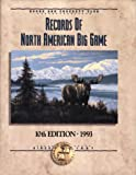 img - for Records of North American Big Game book / textbook / text book