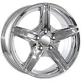17 inch chrome AMG wheels rims fits Mercedes Benz C CLK E S SL ML