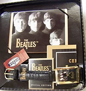 Meet The Beatles Fossil Watch Set Limited Edition LI-1440