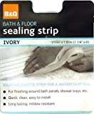 B&Q BATH & FLOOR SILICONE SEALING STRIP NEW