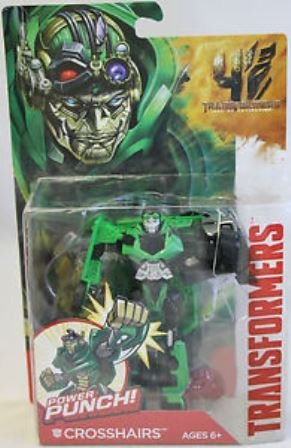 HASBRO Transformers Movie 4 Rid Power Attackers CrossHairs (2014) TV A6147 A6163
