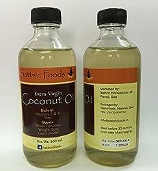 Extra Virgin Coconut Oil wet-milled (Glass bottle / 400 ml)