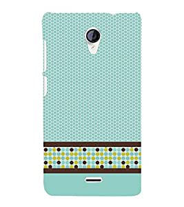 Cellular Pattern 3D Hard Polycarbonate Designer Back Case Cover for Micromax Canvas Unite 2 A106