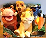 The Lion King soft toy playlet - Simba, Pumbaa, Timon & Zazu