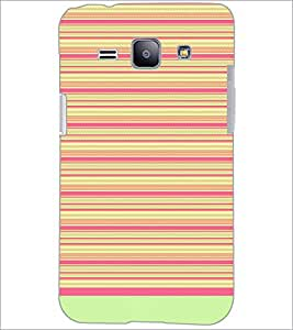 PrintDhaba Tribal pattern D-1757 Back Case Cover for SAMSUNG GALAXY J1 (Multi-Coloured)
