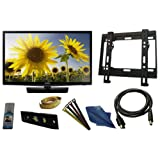 Samsung UN28H4000 28-Inch 720p 60Hz LED TV 8 PC Kit