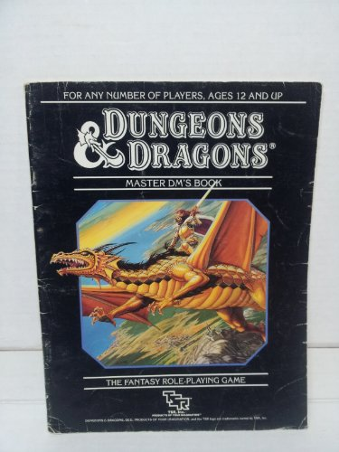 Dungeons & Dragons Master DM'S Book